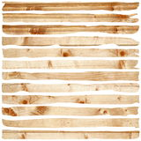 Damaged wood pieces Royalty Free Stock Photography