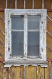 Damaged wooden window Stock Photos