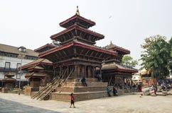 Damages in Kathmandu Durbar Square, Nepal Stock Images
