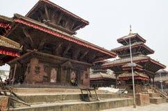 Damages in Kathmandu Durbar Square, Nepal Royalty Free Stock Photography