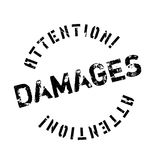 Damages rubber stamp Royalty Free Stock Photography
