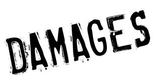 Damages rubber stamp Stock Photo