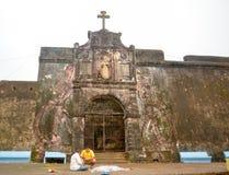 Daman fortu brama Zdjęcia Royalty Free
