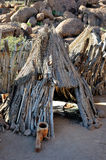 Damara cultural village Royalty Free Stock Image