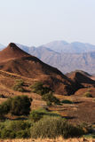 Damaraland. Landscape in Damaraland in northern Namibia royalty free stock image