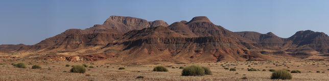 Damaraland, Namibië Royalty-vrije Stock Foto's