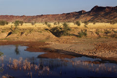 Damaraland near Twyfelfontain - Namibia Royalty Free Stock Photos