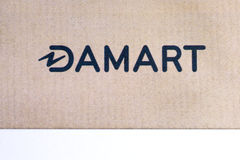 Damart logo na ulotce Zdjęcia Stock