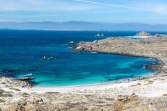 Damas wyspy plaża zdjęcie royalty free