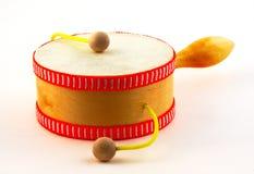 Damasa drum on white Royalty Free Stock Image
