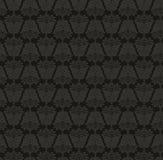Damasc Seamless Background. Black and Gray. Damasc Seamless Background. Vector illustration. Black and Gray Vector Illustration