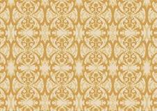 Damasc vector wallpaper 1 Royalty Free Stock Image