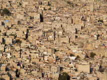 Damascus. View at Damascus town on sunset ( Syria Stock Photography