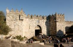 damascus brama Jerusalem Zdjęcia Royalty Free