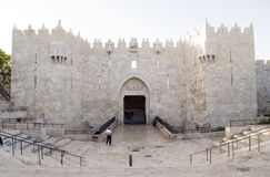 Damascus Gate City Jerusalem Palestine Israel Royalty Free Stock Photos