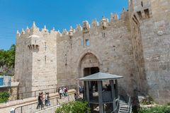 Damascus gate, Jerusalem, Israel Royalty Free Stock Images