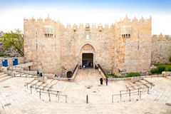 Damascus gate,  Jerusalem, Israel Royalty Free Stock Image