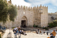 Damascus Gate, Jerusalem Stock Photo