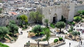 Damascus gate Jerusalem Royalty Free Stock Image