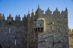Damascus gate of old city  Jerusalem Royalty Free Stock Photography
