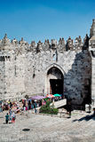 Damascus Gate. Of the old city in Jerusalem Israel May, 2010 Stock Images