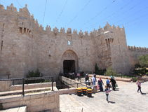 Damascus Gate, Old City of Jerusalem Stock Photography