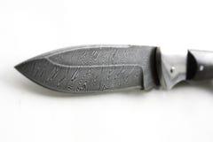 Damascus knife Royalty Free Stock Image