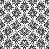 Damascus pattern. Seamless vintage background. Damask pattern Seamless vintage background. Vector illustration Royalty Free Stock Photography