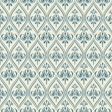 Damascus pattern. Seamless vintage background. Damask pattern Seamless vintage background. Vector illustration Stock Image