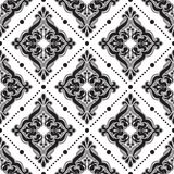 Damascus pattern. Seamless vintage background Stock Images