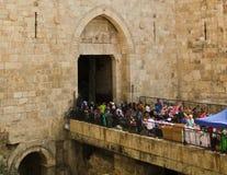 Damascus portar Arkivbild