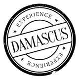 Damascus stamp rubber grunge Royalty Free Stock Image
