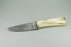 Damascus Steel Stock Image