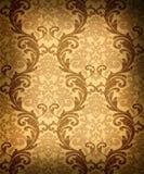 damask άνευ ραφής ταπετσαρία Στοκ Εικόνα