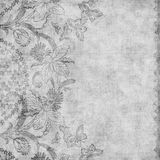 damask ανασκόπησης floral βρώμικος τ& Στοκ εικόνα με δικαίωμα ελεύθερης χρήσης