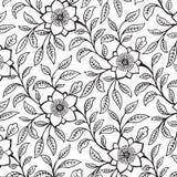 damask ανασκόπησης floral τρύγος λε διανυσματική απεικόνιση