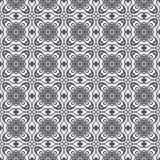 damask πρότυπο άνευ ραφής Στοκ Εικόνες