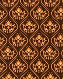 damask πρότυπο απεικόνιση αποθεμάτων