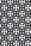 damask νέο ύφος αστεριών προτύπων Στοκ Εικόνες