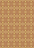 Damask. Drawing for an ornament damask fabrics Stock Images