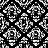 Damask B&W Stock Photography