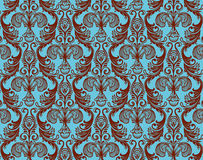Damask back Stock Image