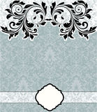 Damask background Stock Photo