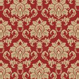 Damask background pattern Stock Photos