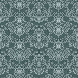 Damask background vector Royalty Free Stock Photos