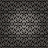 Damask Baroque Seamless Pattern Background Stock Photography