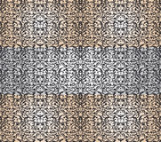 Damask big seamless pattern Royalty Free Stock Photo