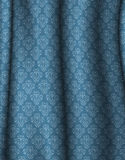 Damask curtain Royalty Free Stock Photography