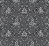 Damask design. Seamless pattern of classic elements Royalty Free Stock Image