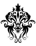 Damask Emblem Stock Image